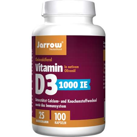 Dose Vitamin D3 1000 IE 100 Kapseln