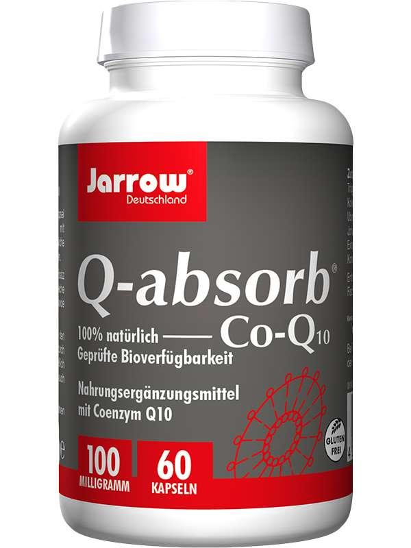 Bottle Q-absorb Kaneka Ubiquinon 60 Capsules