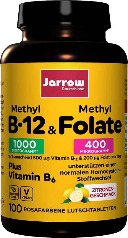 Methyl-B12 & Methyl Folate + Vitamin B6
